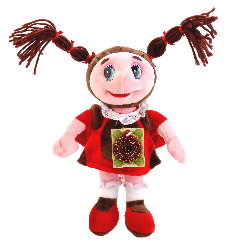 Мягкая игрушка Мульти-Пульти Божья коровка Мила, 253414 божья коровка лиза игрушка книжка lilliputiens
