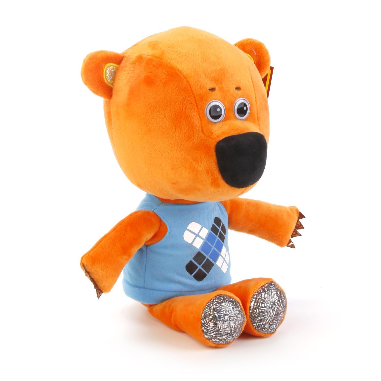 Мягкая игрушка Мульти-Пульти Медвежонок Кешка, 241123, оранжевый, синий мягкая игрушка мульти пульти медвежонок кешка 20см м ф ми ми мишки озвуч в кор v62075 20x