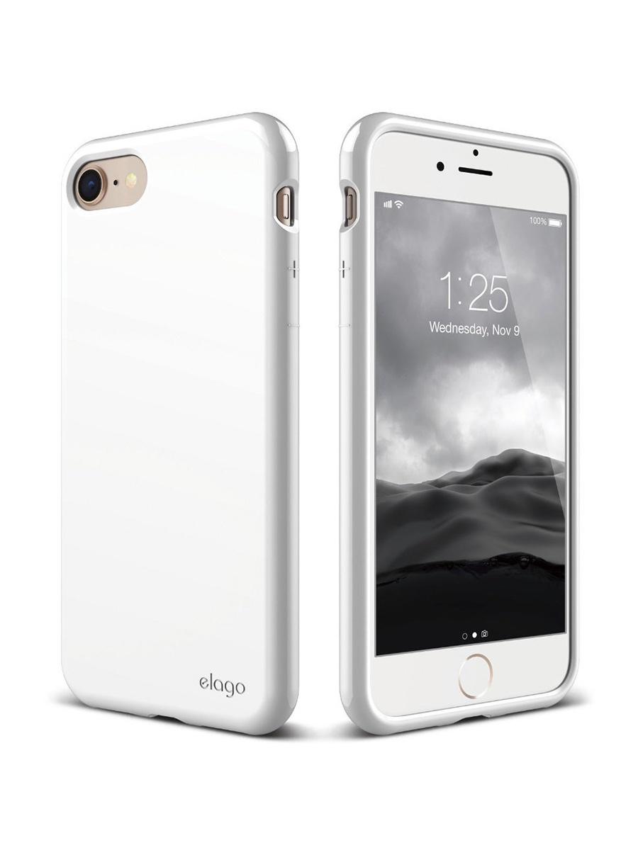 Чехол/бампер Yoho для iPhone 7/8, YCHI78QW, белый чехол бампер yoho для iphone 7 8 ychi78qw белый