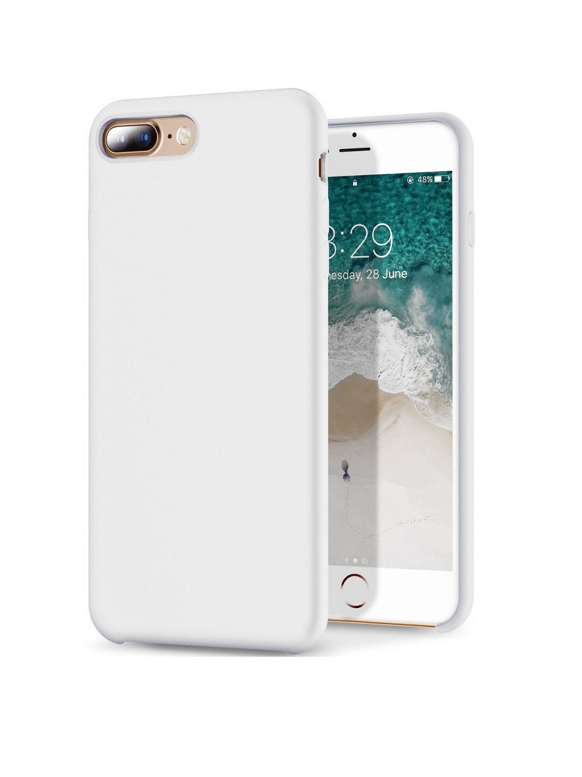 Чехол/бампер Yoho для iPhone 7 Plus/8 Plus, YCHI78PW, белый чехол бампер yoho для iphone 7 8 ychi78qw белый