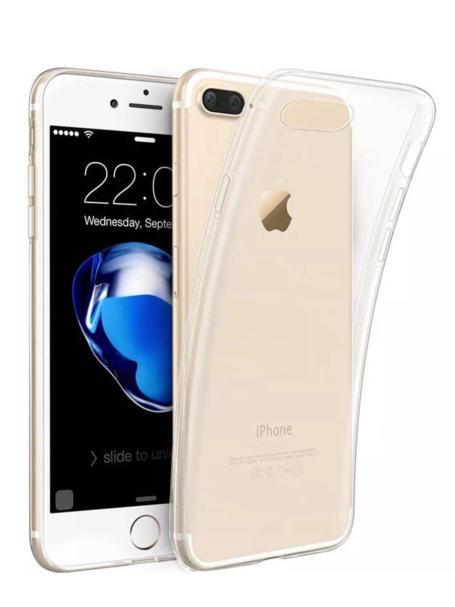 Чехол/бампер Yoho для iPhone 7 Plus/8 Plus, YCHI78PC, прозрачный чехол бампер yoho для iphone 7 8 ychi78qw белый