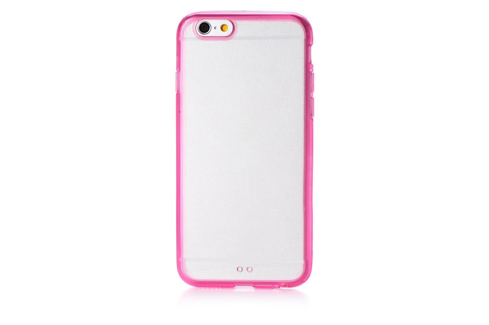 """Чехол для сотового телефона Gurdini Чехол накладка iPhone 6/6S 4.7"""" Gurdini Lims 2, 580052, темно-розовый"""