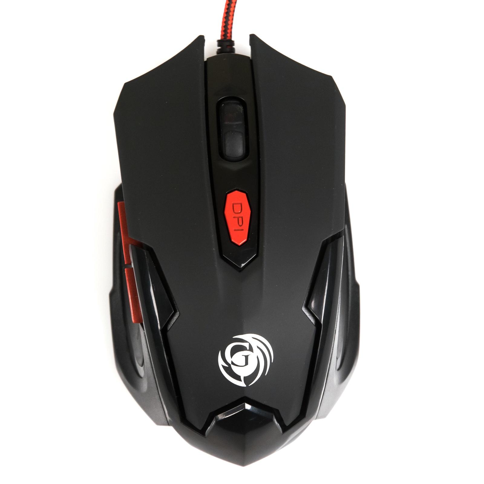Игровая мышь DIALOG Gan-Kata MGK-10U, черная мышь проводная dialog gan kata mgk 05u чёрный usb