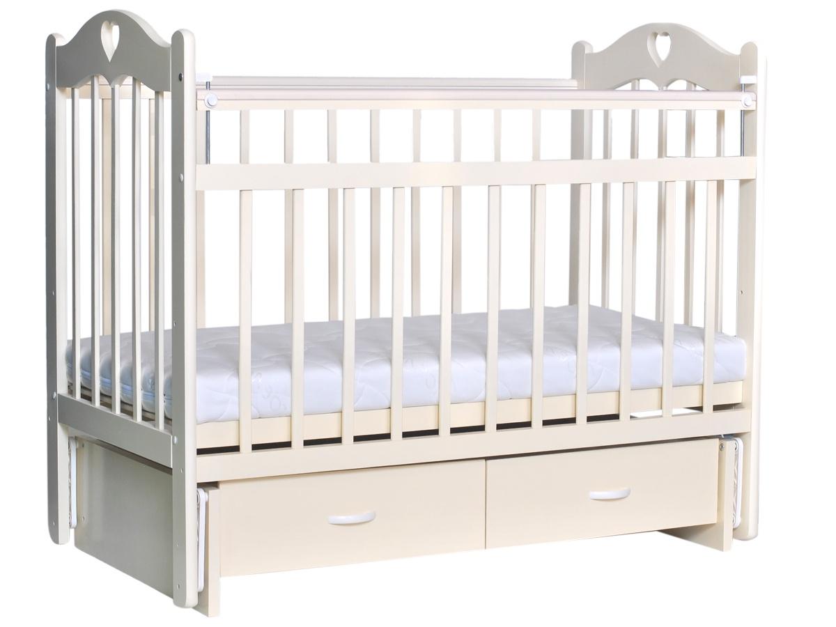 Детская кроватка Everflo love ivory