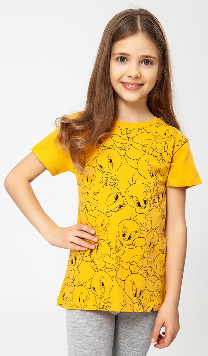 Футболка ТВОЕ Warner Brothers футболка для девочки твое цвет белый 60518 размер 110
