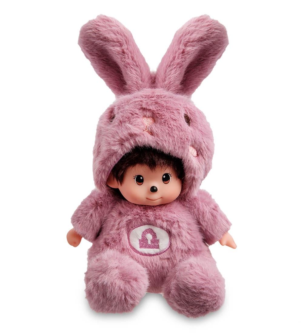 """Мягкая игрушка Lovely Joy """"Малыш в костюме Зайчика. Знак Зодиака - Весы'', 25440, темно-сиреневый"""