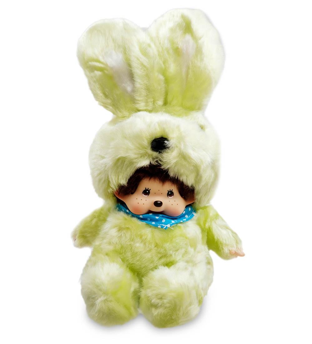 """Мягкая игрушка Lovely Joy """"Малыш в костюме Зайчика"""", 25450, светло-зеленый"""