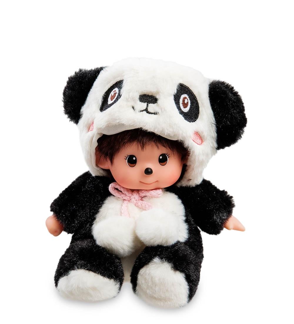 Мягкая игрушка Lovely Joy Малыш в костюме Панды, 25454, бело-черный фигурка малыш в костюме мишки