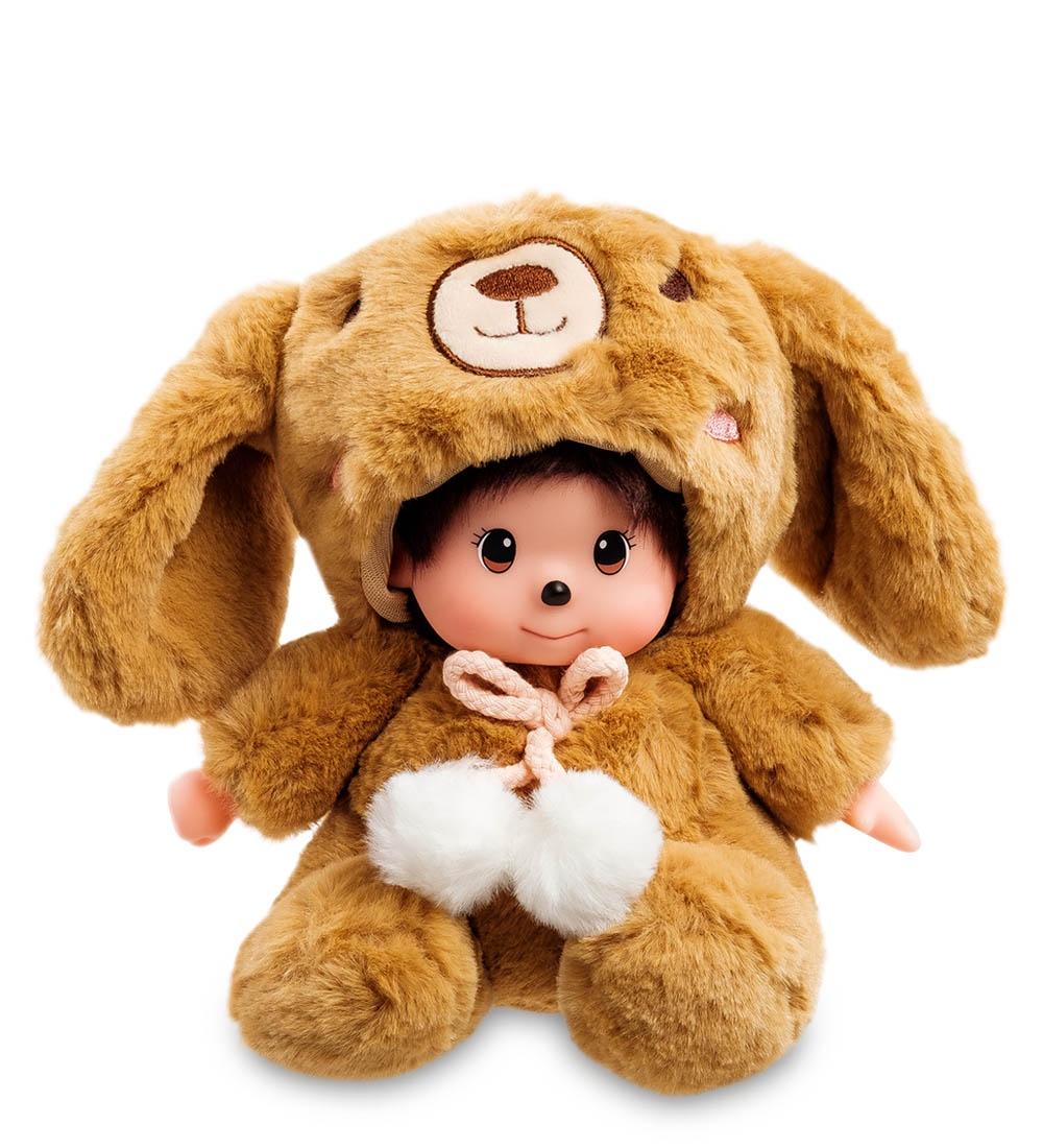 Мягкая игрушка Lovely Joy Малыш в костюме Кролика, 25455, светло-коричневый мягкая игрушка lovely joy малыш в костюме кролика 25453 белый