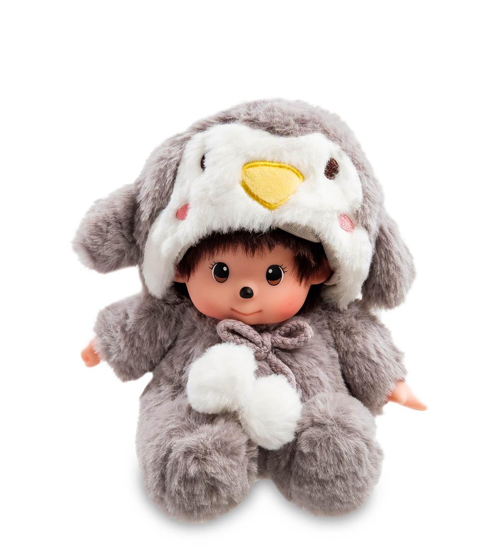 Мягкая игрушка Lovely Joy Малыш в костюме, 25456, серый, белый мягкая игрушка lovely joy малыш в костюме кролика 25453 белый