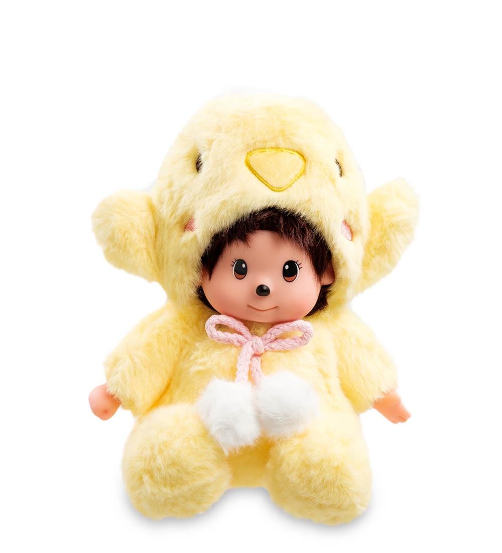 Мягкая игрушка Lovely Joy Малыш в костюме мишки, 25457, светло-желтый мягкая игрушка lovely joy малыш в костюме кролика 25453 белый