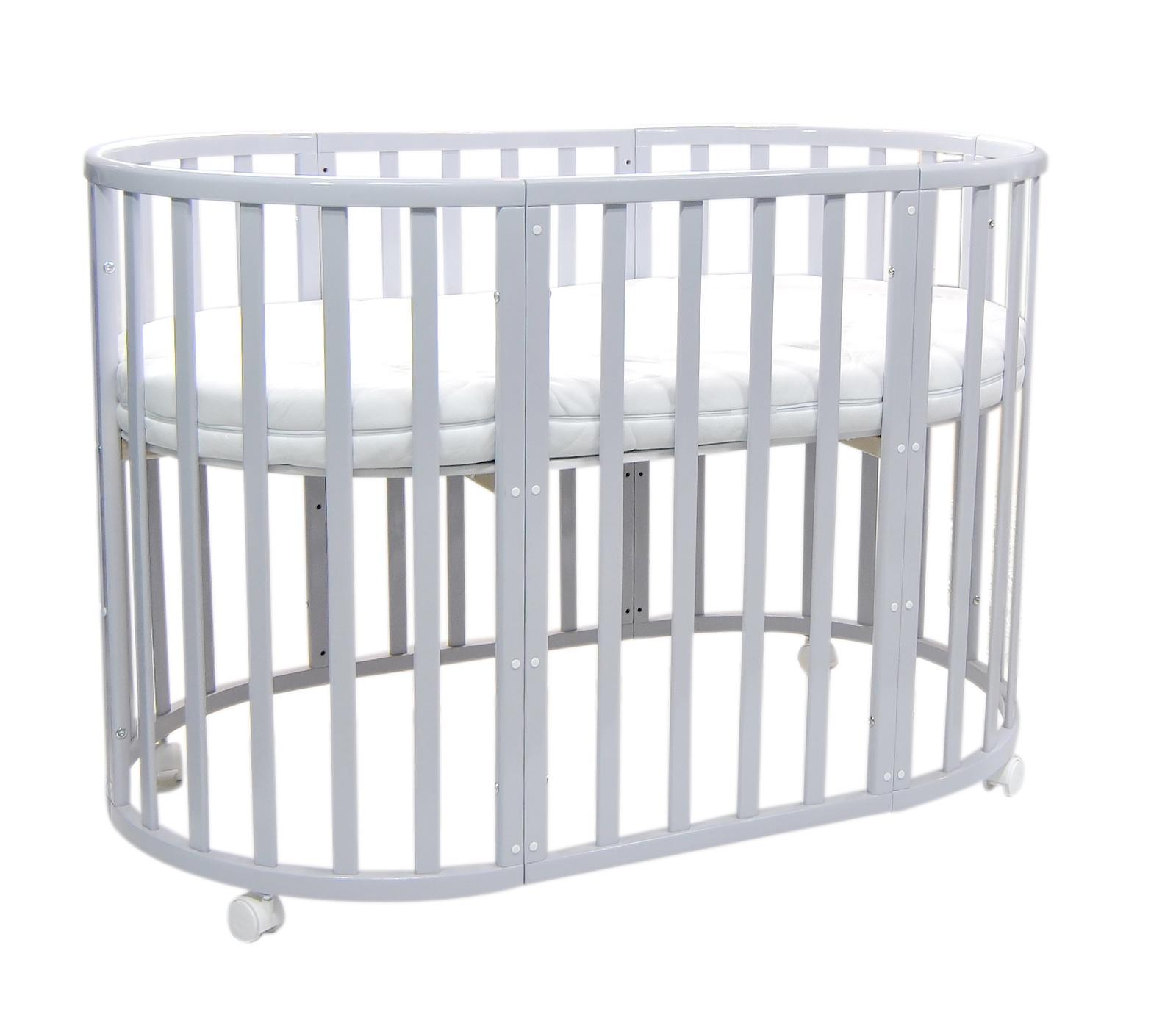 Кроватка детская Everflo Allure Gray ES-008, ПП100004142