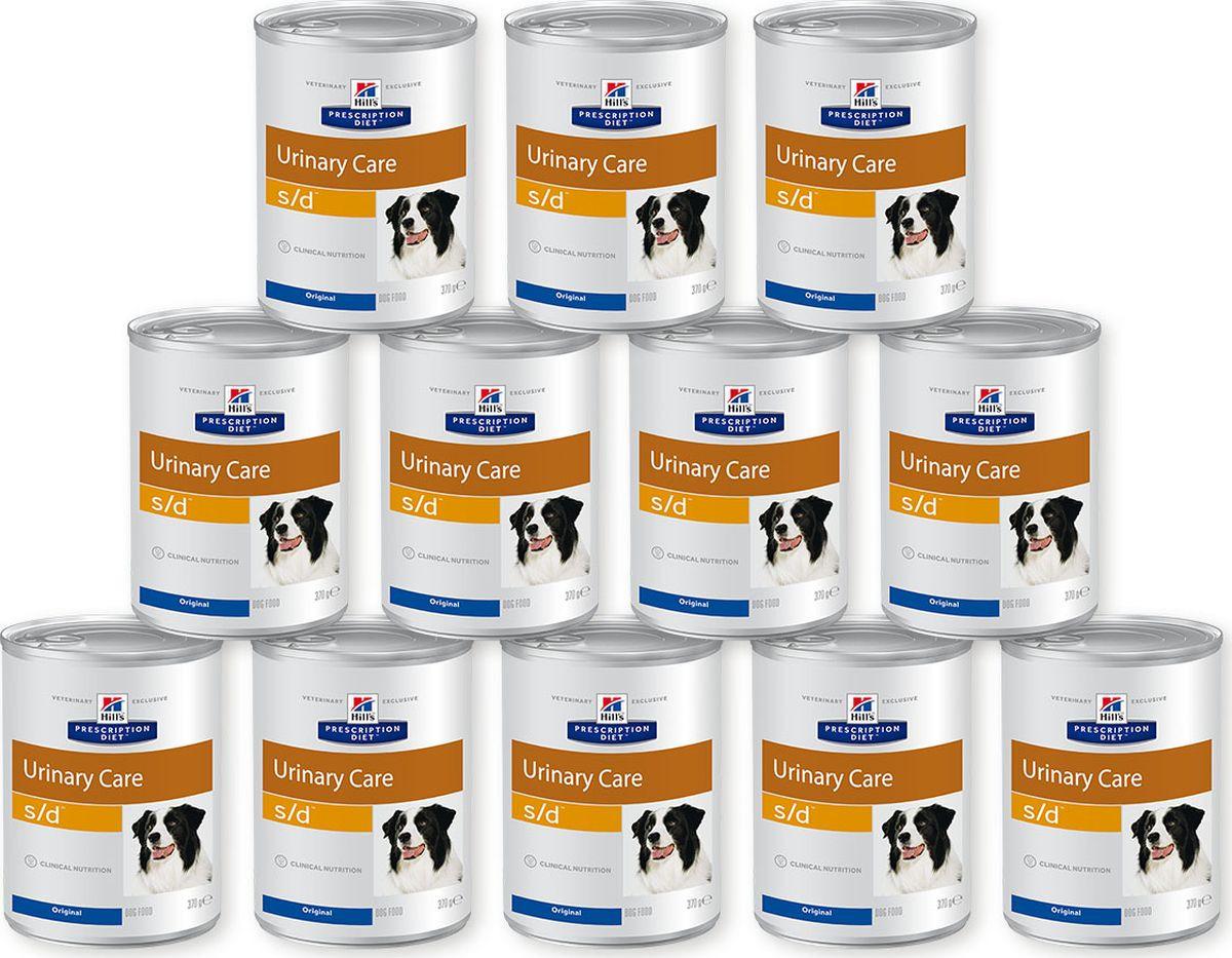 Корм влажный Hills Prescription Diet s/d Urinary Care для собак для поддержания здоровья мочевыводящих путей, 12 шт по 370 г8015Hill's Prescription Diet Canine s/d — рацион для растворения струвитных уролитов и поддержания нормального уровня рН мочи у собак с заболеваниями нижних мочевыводящих путей. Ключевые преимущества: • Помогает растворить струвитные уролиты. • Закисляет мочу, что способствует растворению струвитов. • Разработан при участии ветеринарных специалистов • Отличный вкус Без искусственных ароматизаторов, красителей и консервантов. Назначение: • Для растворения струвитных уролитов Рекомендации по кормлению: Монодиета. Не требует дополнений. Перед началом применения проконсультируйтесь с ветеринарным специалистом. Перевод на данный рацион: Пробуете этот рацион впервые? Постепенно в течение 7 дней переводите животное на новый рацион, увеличивая его содержание по отношению к прежнему. Обеспечьте питомцу свободный доступ к свежей воде. Не рекомендуется • Кошкам. • Щенкам. • Беременным и кормящим сукам. • В первые 1-2 недели после операции. • Собакам, одновременно получающим вещества, закисляющими мочу. • Кормить дольше 6 месяцев без контроля уровня протеинов в плазме крови и кислотно-щелочного баланса (в связи с низким содержанием протеинов в рационе и наличием веществ, закисляющих мочу). • Собакам с уролитиазом неструвитного типа. • Собакам с сердечной недостаточностью, гипертензией, заболеваниями почек или печени. Собакам с гиперлипидемией или панкреатитом (или с риском развития панкреатита). Состав на упаковке: Злаки, масла и жиры, мясо и производные животного происхождения, различные са...