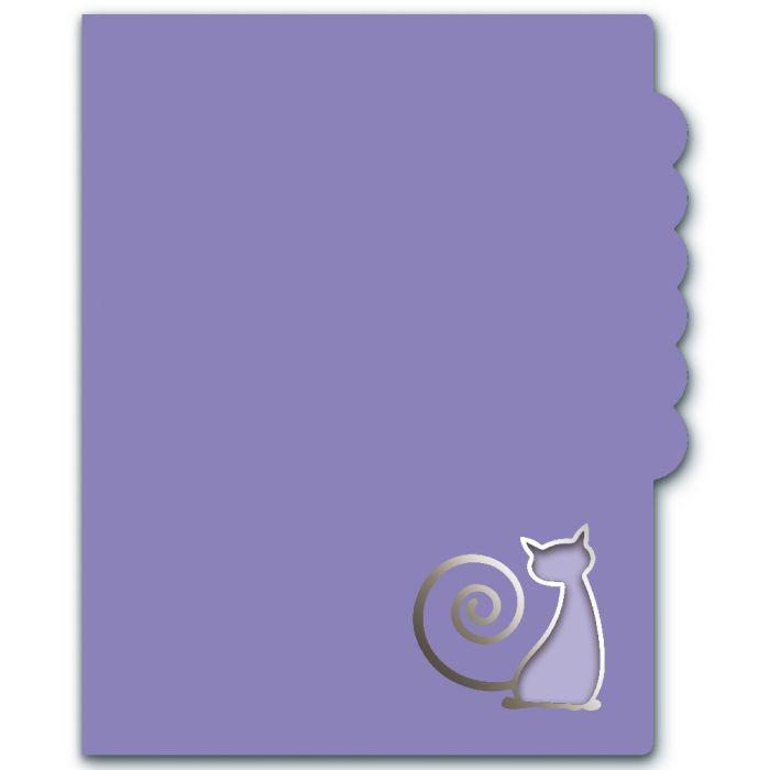 Папка для документов Феникс + Кот, 46543, 23,9х30,9 см папка для документов цветы а4 7 отделений пластик внутренние папки уголки на гибкой молнии