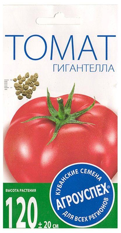 Семена Агроуспех Томат Гигантелла малиновый поздний И, 54100, 0,1 г
