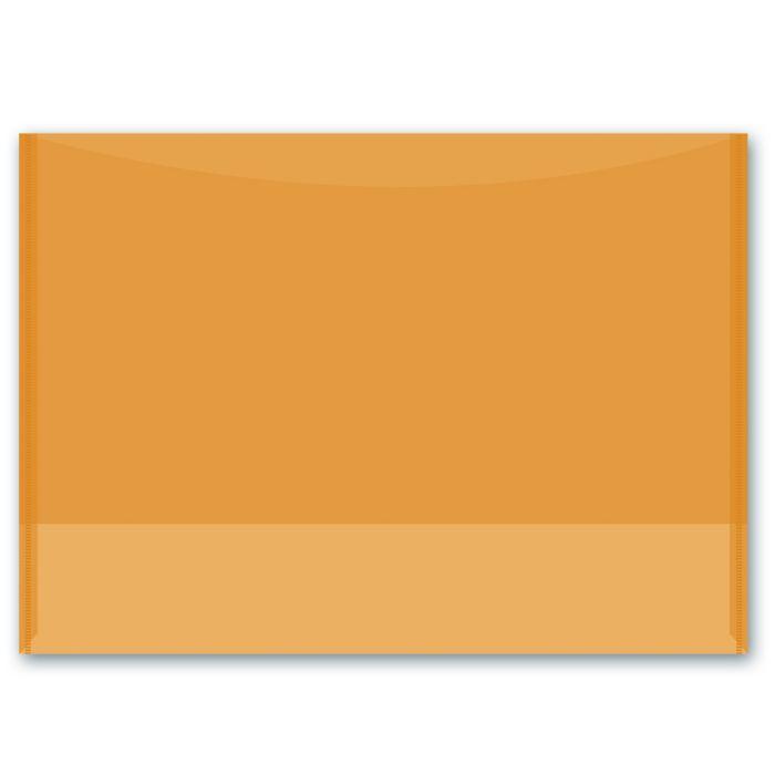 Папка для документов Феникс +, 46741, оранжевый, А4, 31.8х22.7 см цена
