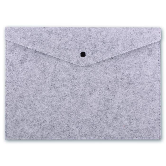 Папка для документов Феникс +, 44639, серый, 34x24см