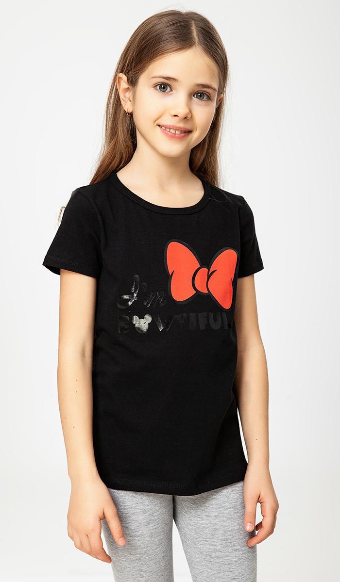 Футболка ТВОЕ Classic (Disney) футболка для девочки твое цвет белый 60518 размер 110