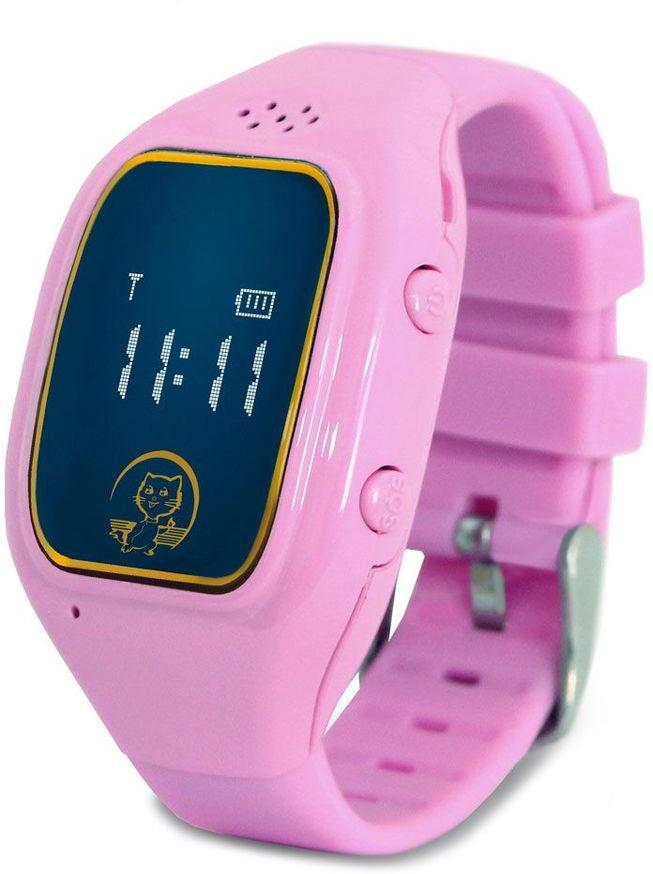 Умные часы Ginzzu GZ-511, розовый умные часы ginzzu® gz 701 black 50м android ios bluetooth мониторинг сна калорий физ активности