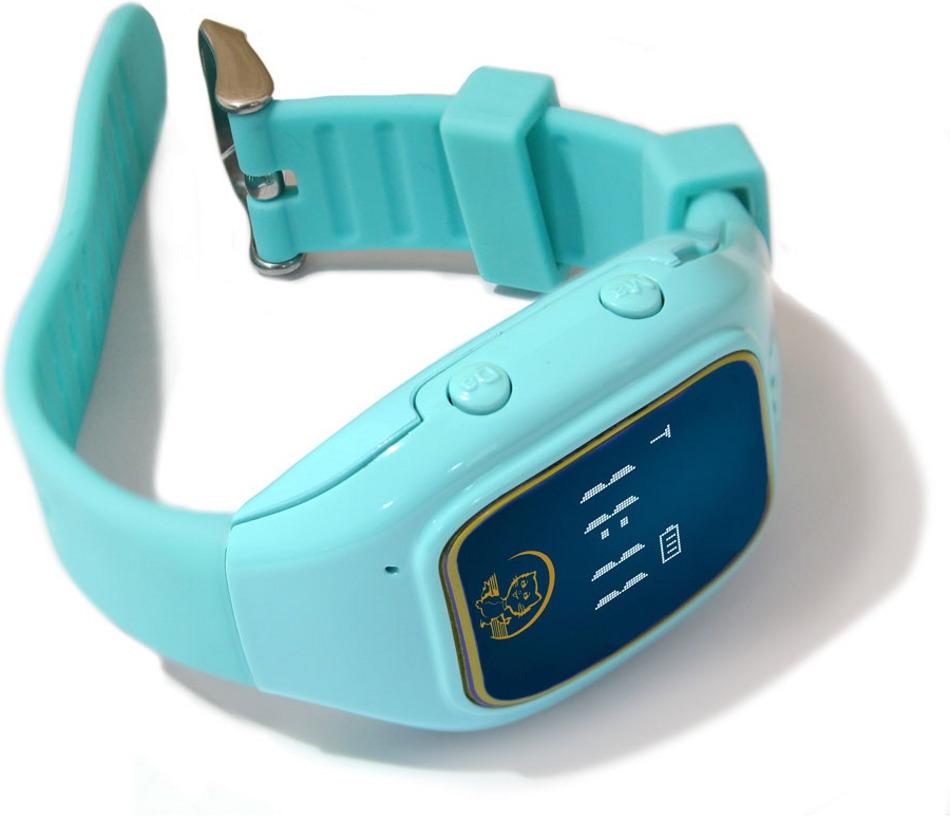 Умные часы Ginzzu GZ-511, синий умные часы ginzzu® gz 701 black 50м android ios bluetooth мониторинг сна калорий физ активности