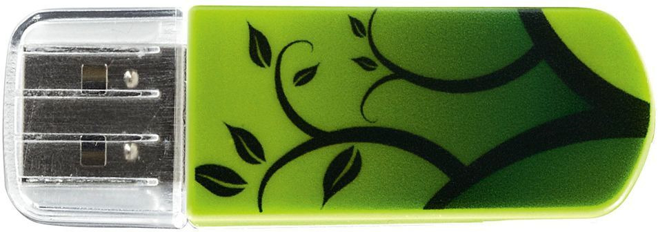 USB-накопитель Verbatim Mini Elements Edition 32GB, 49411, green внешний накопитель 32gb usb drive