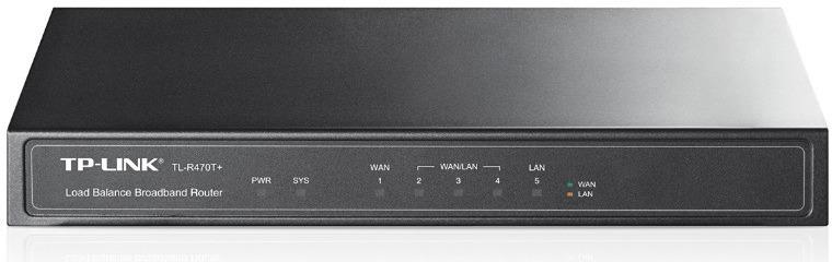 Маршрутизатор TP-Link TL-R470T+ 10/100BASE-TX, 896865, черный маршрутизатор tp link tl er6020 5 port gigabit multi wan vpn router