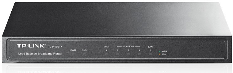 Маршрутизатор TP-Link TL-R470T+ 10/100BASE-TX, 896865, черный кабель tp link tl ant200pt черный 50 см