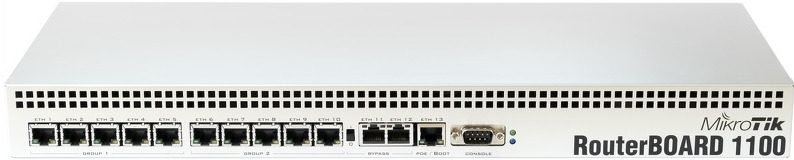Маршрутизатор MikroTik RB1100DX4 10/100/1000BASE-TX, 1079997, серый маршрутизатор mikrotik ccr1036 8g 2s 8x10 100 1000mbps 2xsfp 1xmicrousb