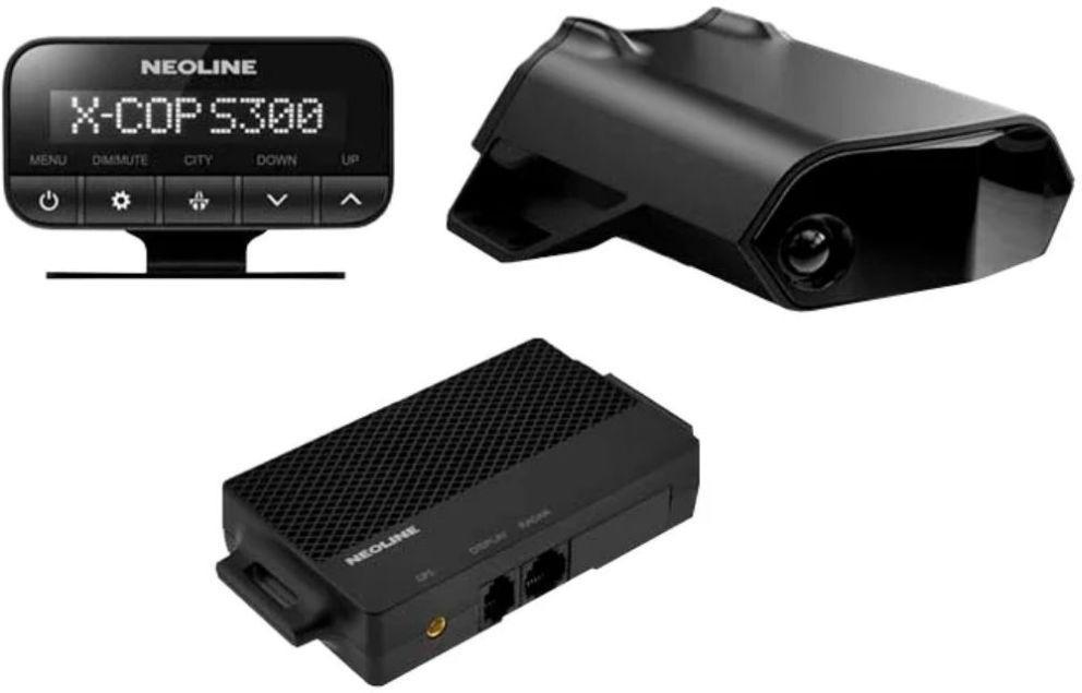Радар-детектор Neoline X-COP S300, GPS приемник, 1063915, черный