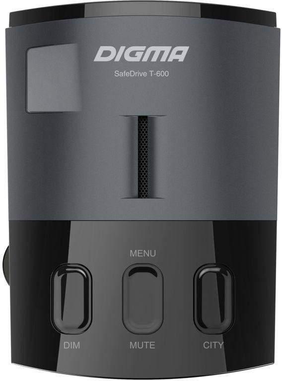 Радар-детектор Digma SafeDrive T-600, 1030095, серый