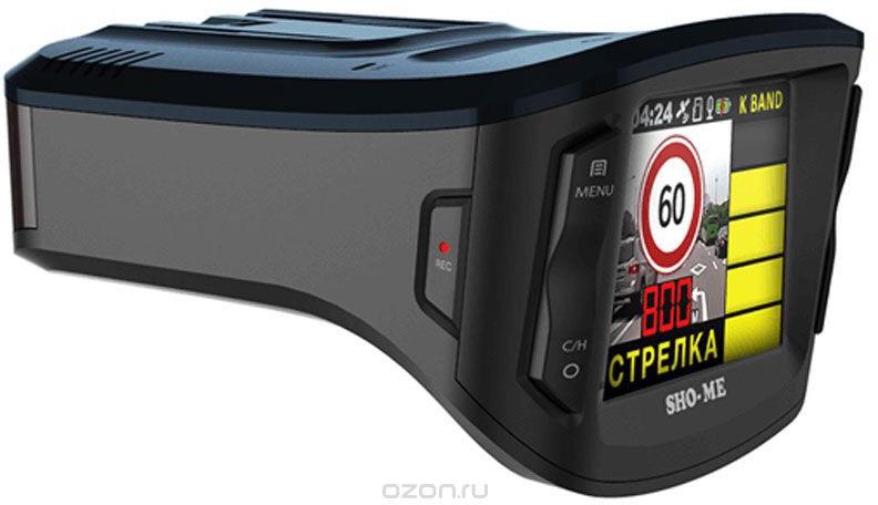 Видеорегистратор Sho-Me Combo №5 А12 1051622, черный видеорегистратор sho me a7 gps glonass