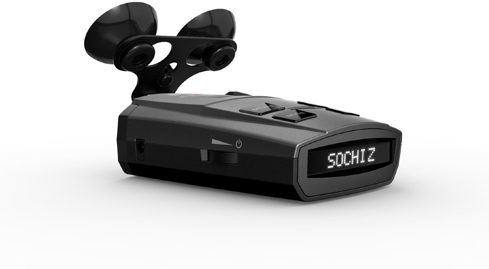 Радар-детектор Silverstone F1 Sochi Z GPS, 1060662, черный радар детектор silverstone f1 monaco s