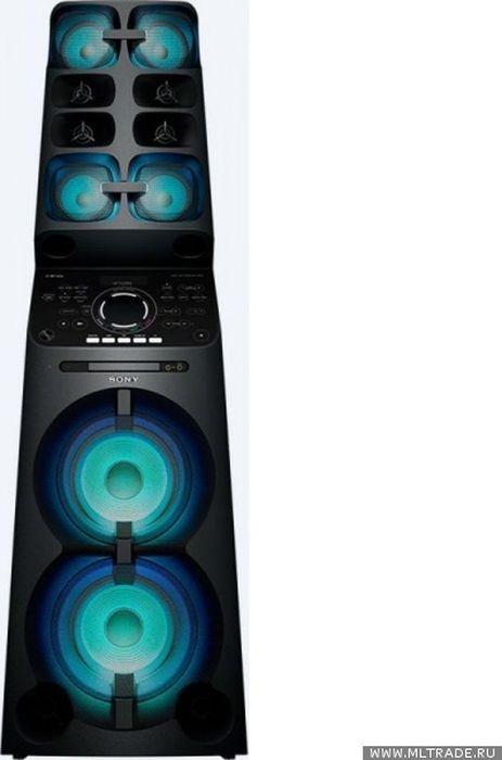 Минисистема Sony MHC-V90DW черный 2000Вт/CD/CDRW/DVD/DVDRW/FM/USB/BT цена и фото