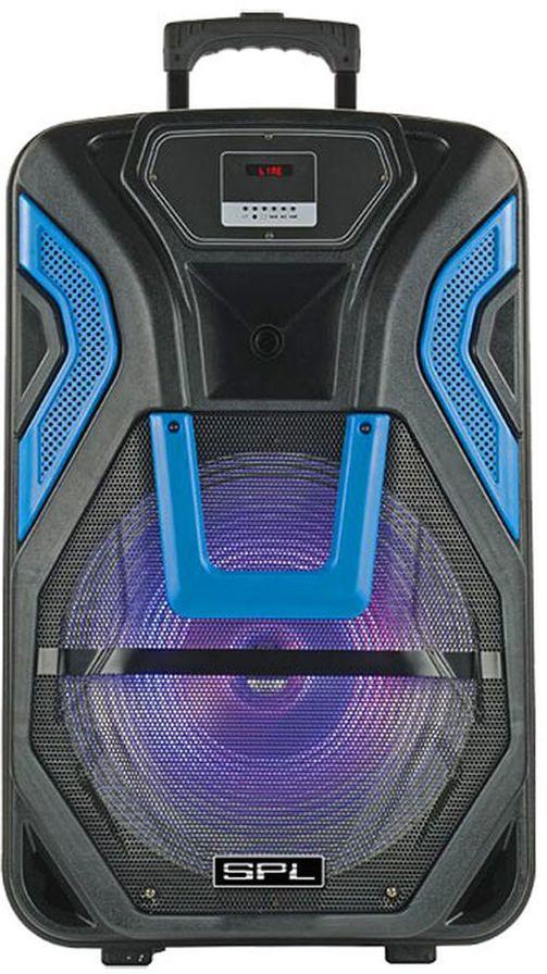 Аудиомагнитола SPL SP-154X, 1051003, цвет черный цена и фото