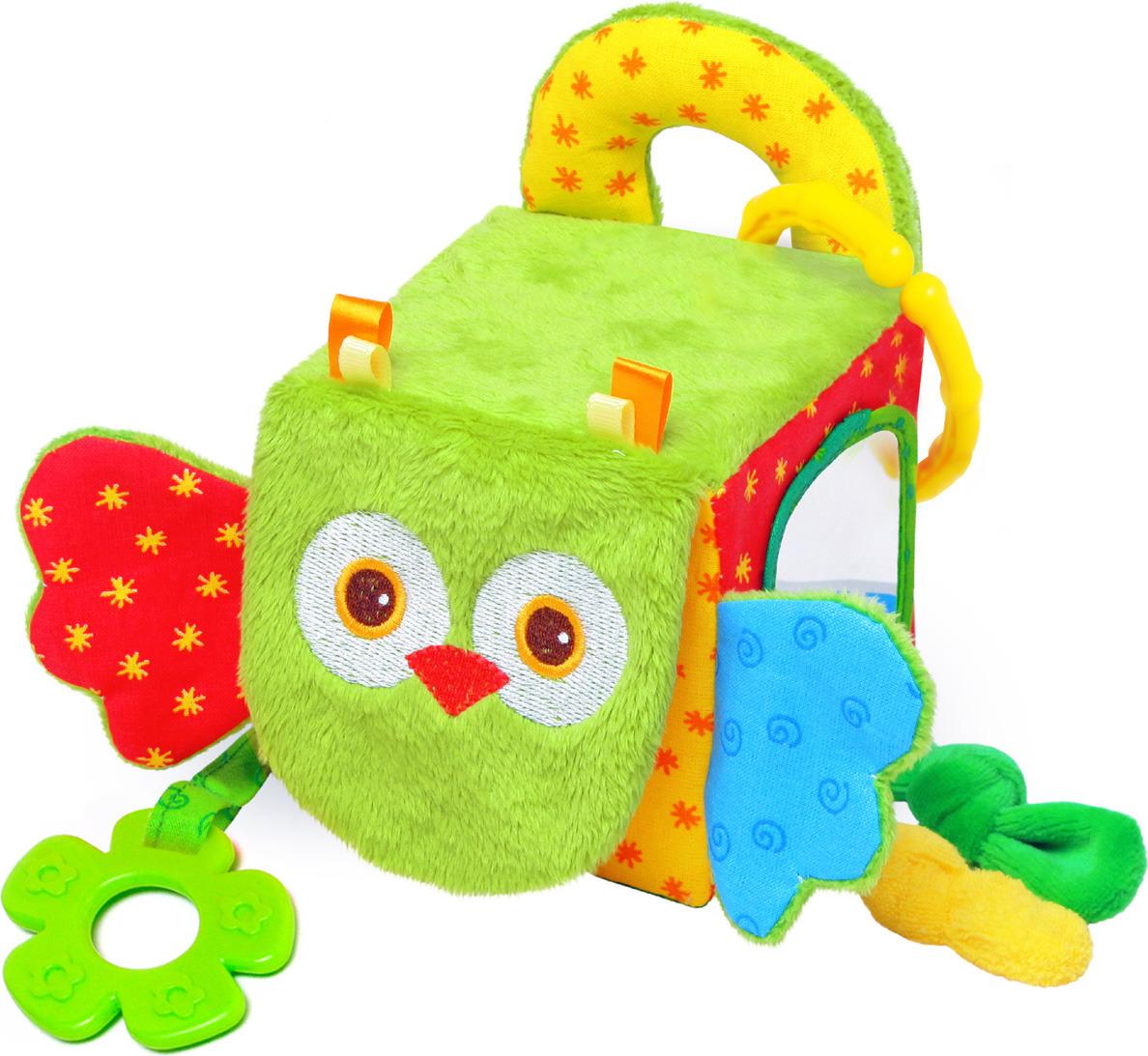 Мякиши Развивающая игрушка Кубик сова цена