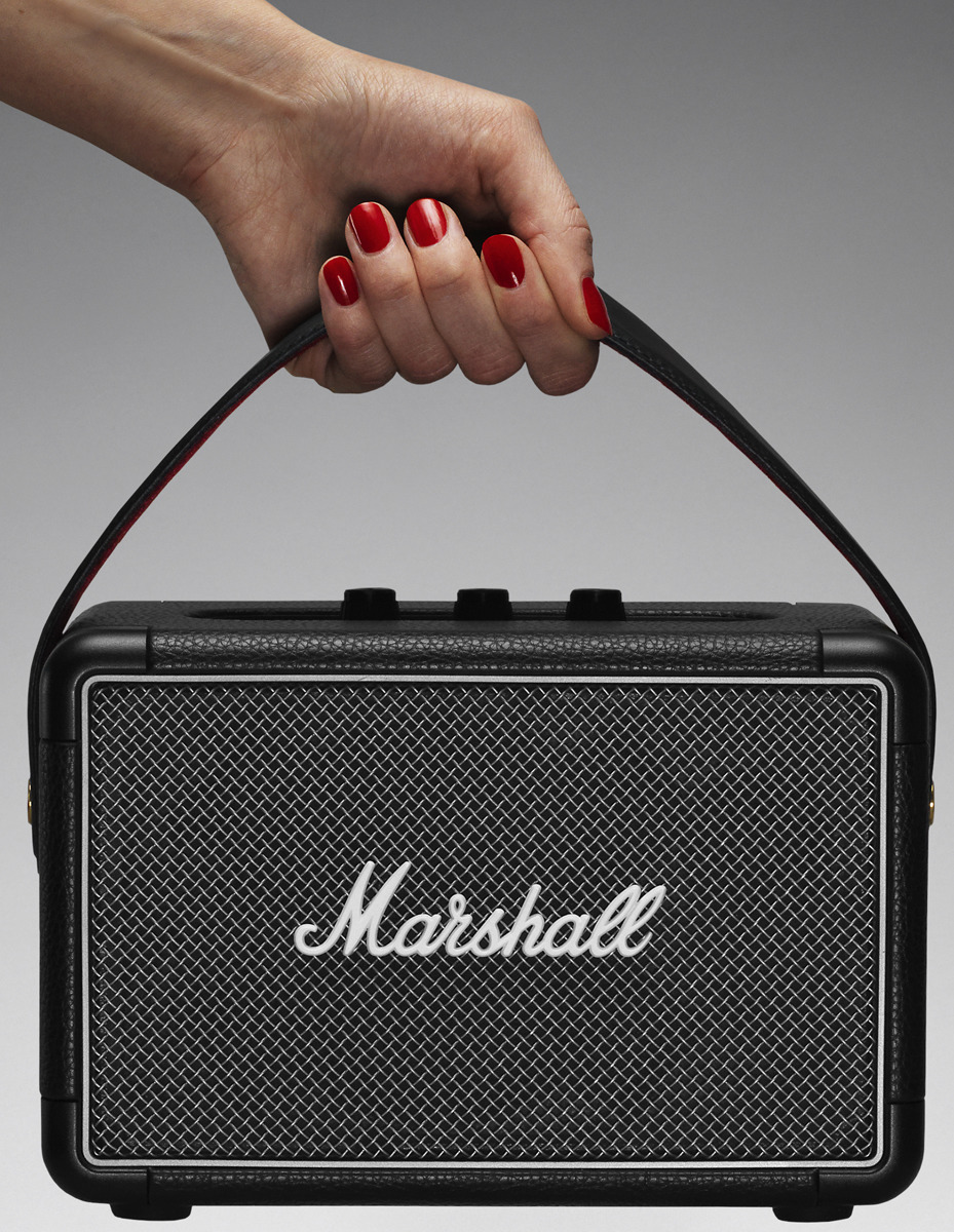 Портативная акустическая система Marshall Kilburn II, 15120102, black цена и фото