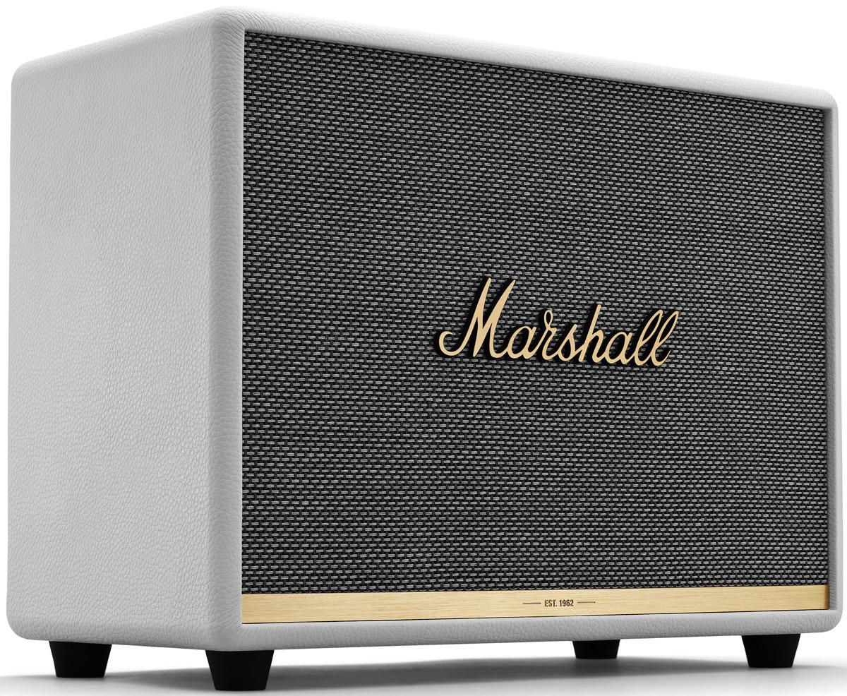 Фото - Портативная акустическая система Marshall Woburn II, 80000023, white беспроводная bluetooth колонка edifier m33bt