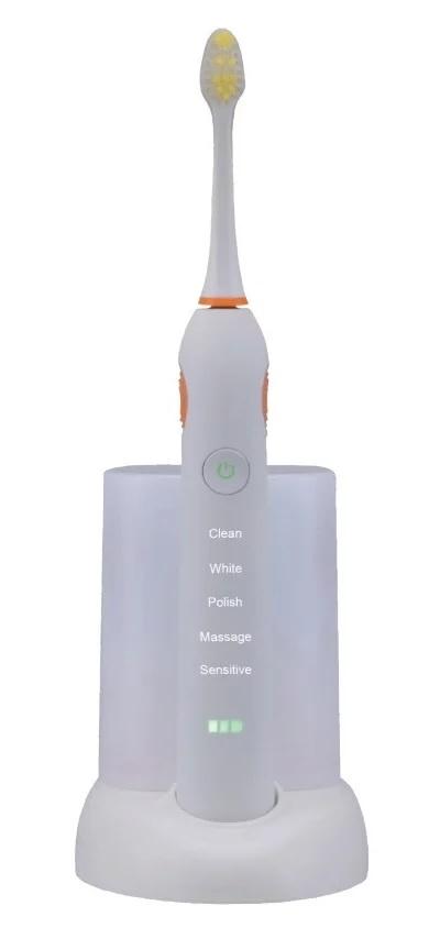 купить Зубная щетка ультразвуковая Donfeel HSD-015 05.3811, белая по цене 5680 рублей