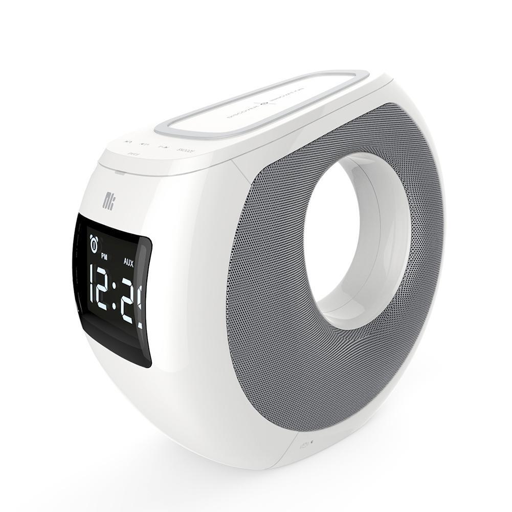 Фото - Беспроводная колонка Nillkin MC1 акустическая система беспроводная зарядка часы будильник nillkin cozy mc1