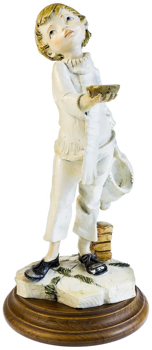 """Capodimonte! Статуэтка """"Попрошайка"""", авторская работа. Высота 25 см. Италия, 1990-е гг"""