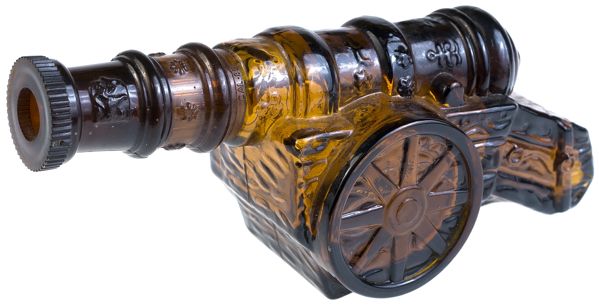Флакон для духов коллекционный Пушка. Avon, Великобритания, конец ХХ века avon field flowers foaming bath oil armoire decanter