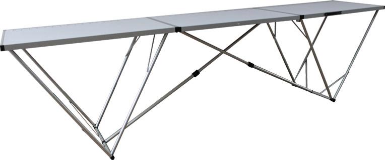 все цены на Стол раскладной Tramp, TRF-007, серый онлайн