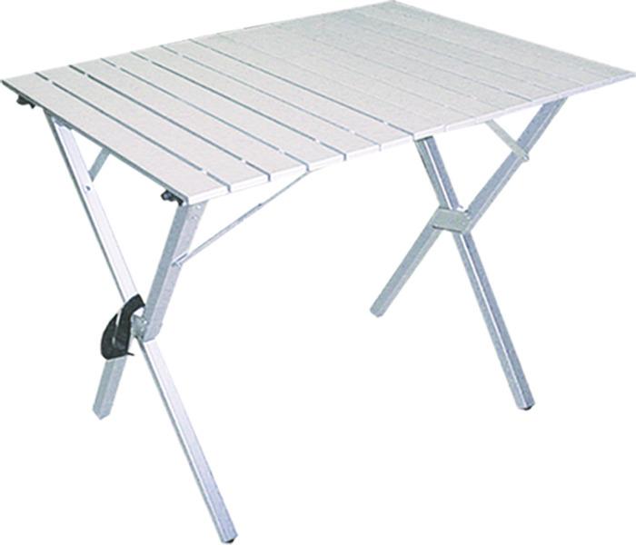 все цены на Стол раскладной Tramp, TRF-008, серый онлайн
