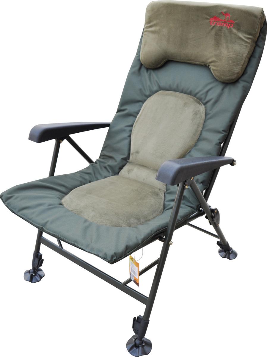 Кресло раскладное Tramp Elite, TRF-043, зеленый недорго, оригинальная цена