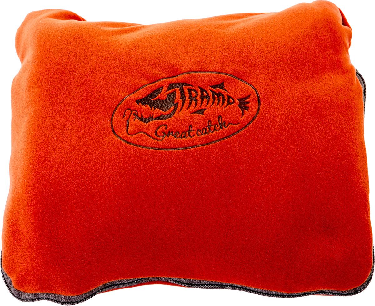 Плед для пикника Tramp, TRS-034, коричнево-красный, 150 х 190 см цена