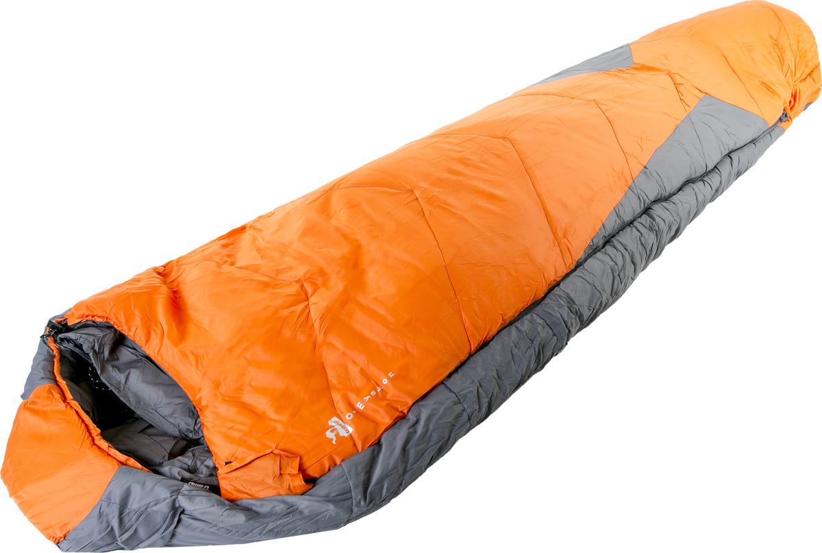Спальный мешок Tramp Oimyakon (V2), левосторонняя молния, TRS-035, оранжевый, 200 х 80 см спальные мешки для малышей happybabydays комплект