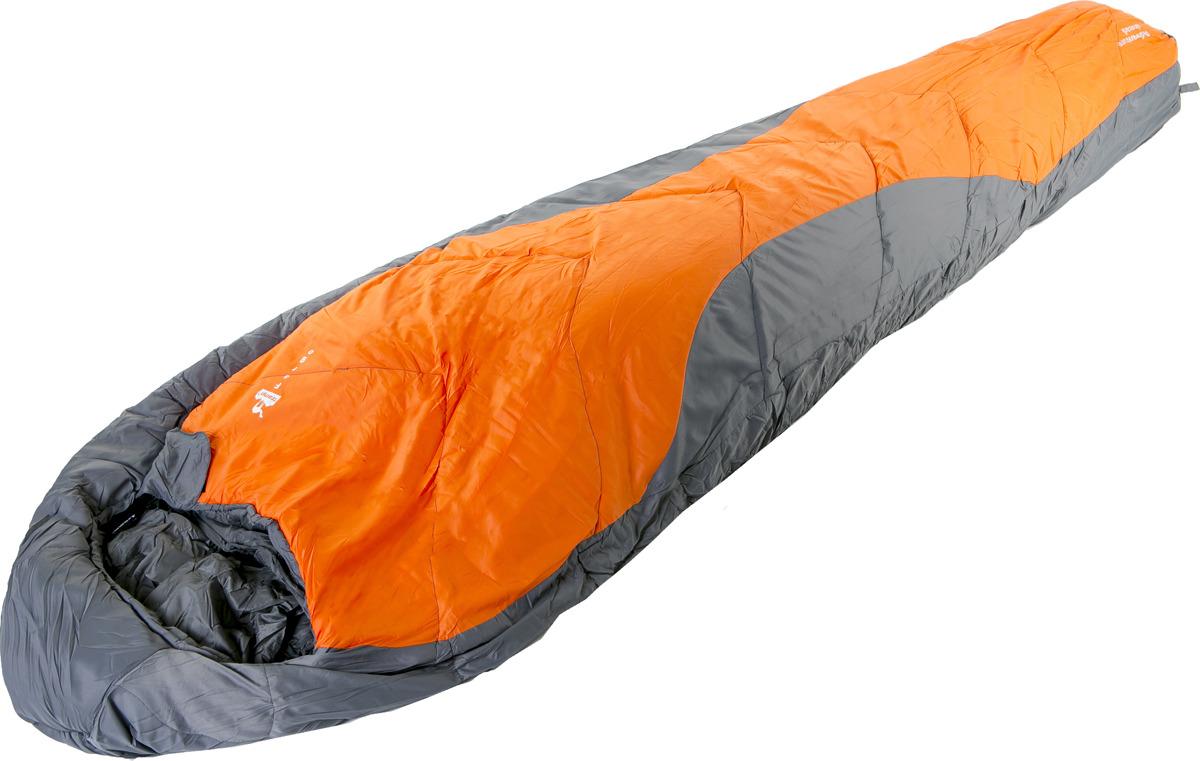 Спальный мешок Tramp Fargo (V2), правосторонняя молния, TRS-018, оранжевый, 230 х 80 см