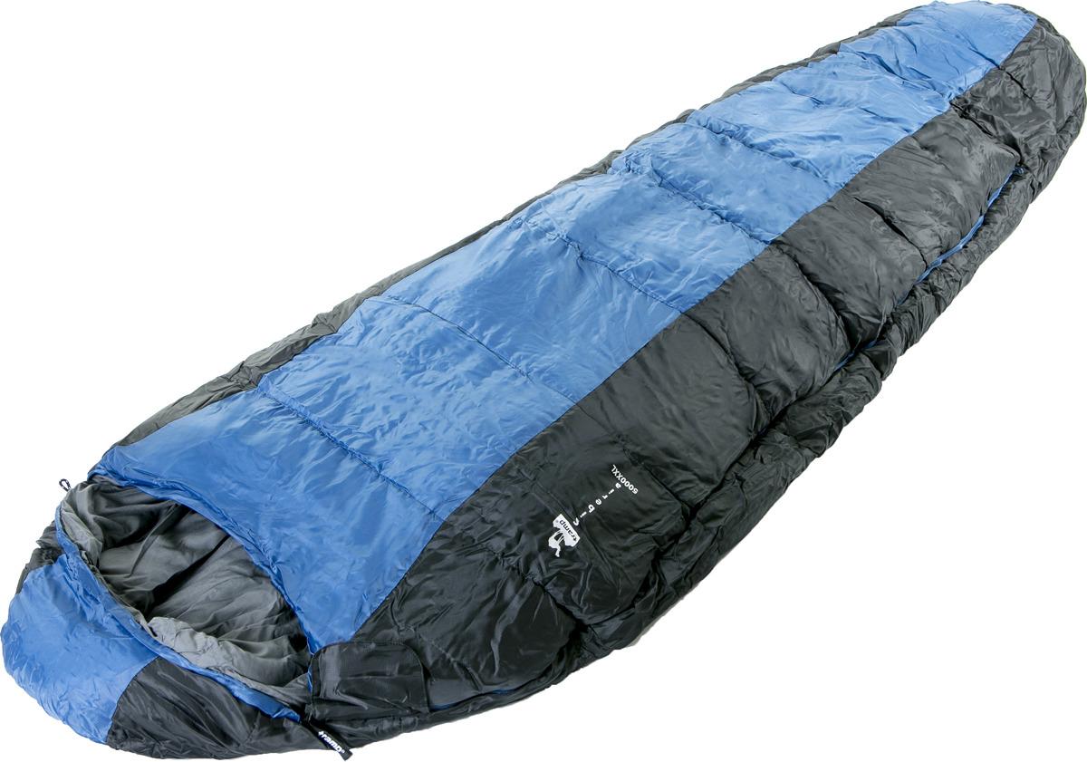 Спальный мешок Tramp Siberia 5000 XXL (V2), левосторонняя молния, TRS-041, синий, 230 х 80 см цена
