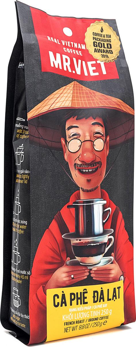 Кофе молотый Sense Asia Mr. Viet Далат, 250 г