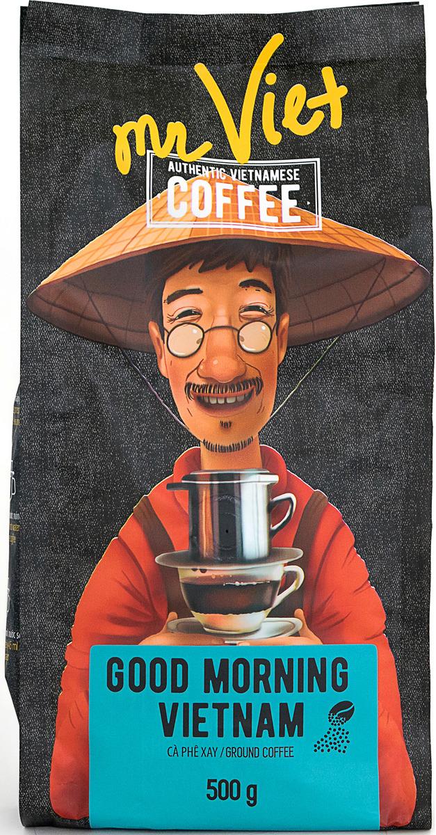Кофе молотый Sense Asia Mr. Viet Доброе утро, Вьетнам, 500 г dai viet 250g